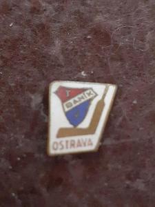 Odznak Baník Ostrava  - lední hokej