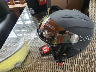 Lyžařská helma BOLLÉ Backline Visor vel. 59-61