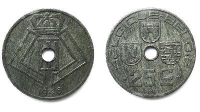 Belgie 25 Cent 1946