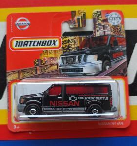 Nissan NV Van Courtesy Shuttle MB 66/100 Matchbox