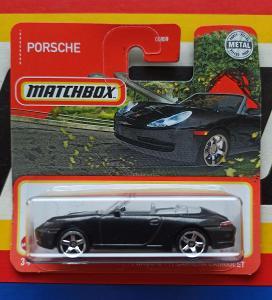 Porsche 911 Carrera Cabriolet MB 54/100 Matchbox
