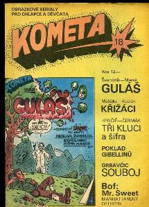Kometa číslo 18 / 1991
