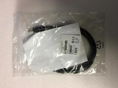 Kabel na čtečku čárových kódů, Cab-521 Enhanced USD, Black, STRT, 2m