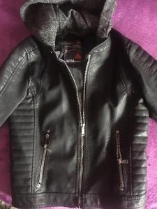 Kožená bunda chlapecká vel.  134