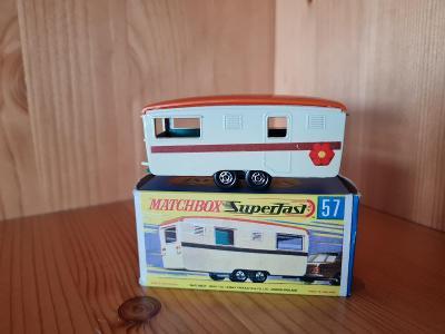 MATCHBOX SUPERFAST 57 TRAILER CARAVAN