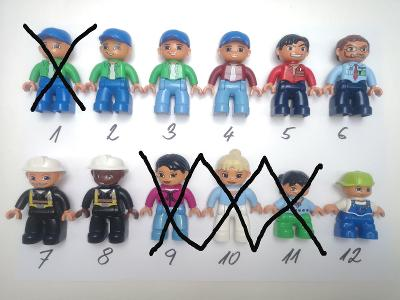 LEGO Duplo figurka