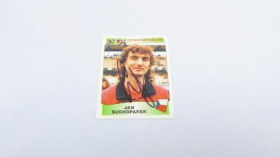 JAN SUCHOPÁREK originál autogram REPREZENTACE EURO 1996 PANINI fotbal