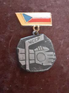 Odznak  lední hokej  - Československo