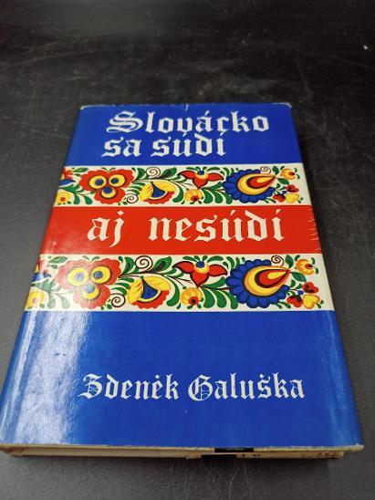 Kniha-Slovácko sa súdí aj nesúdí/1981-279 str...(14288) - Knihy