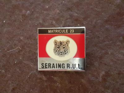 Odznak SERAING - fotbalový klub Belgie