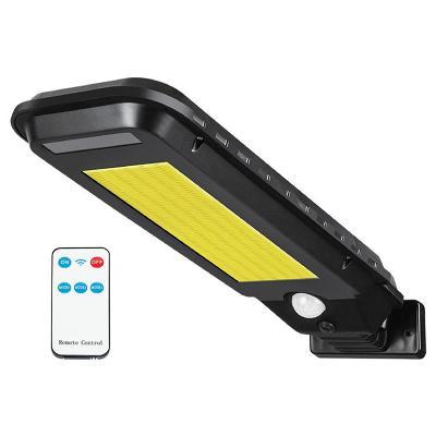 Solární lampa se senzorem pohybu a soumraku LTC LXLL118 + ovládání