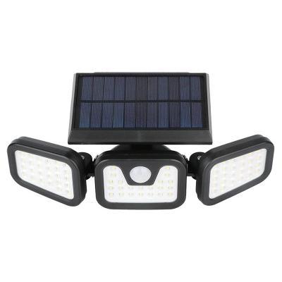 Solární LED světlo s integrovaným senzorem pohybu a soumraku