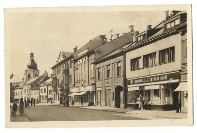 Pohlednice, Choceň, Jungmannova ulice, MF, 81/58