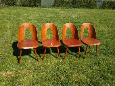 ŠUMAN ANTONÍN 4x designové židle