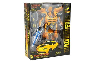 Transformační robot Bumblebee - Žlutý. Nový.