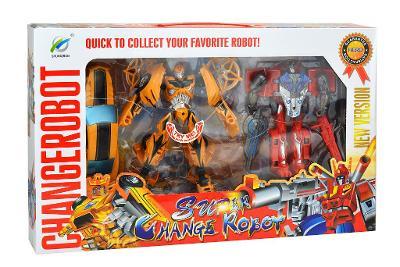 Transformační roboti 2 Ks - Optimus Prime a Bumblebee. Nové.