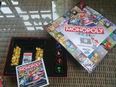 Stolní hra Monopoly Gamer Mario Kart DE