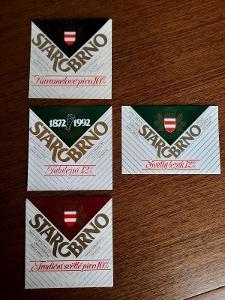 pivní etikety Starobrno
