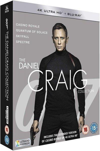 James Bond Daniel Craig kolekce 4K UHD Blu-ray