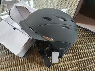 Lyžařská helma Smith Variance - Matte Black