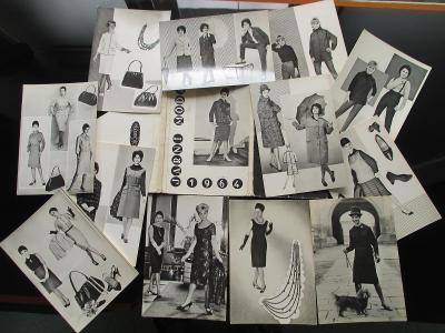 MÓDA JARO 1964 - SOUBOR FOTOGRAFIÍ