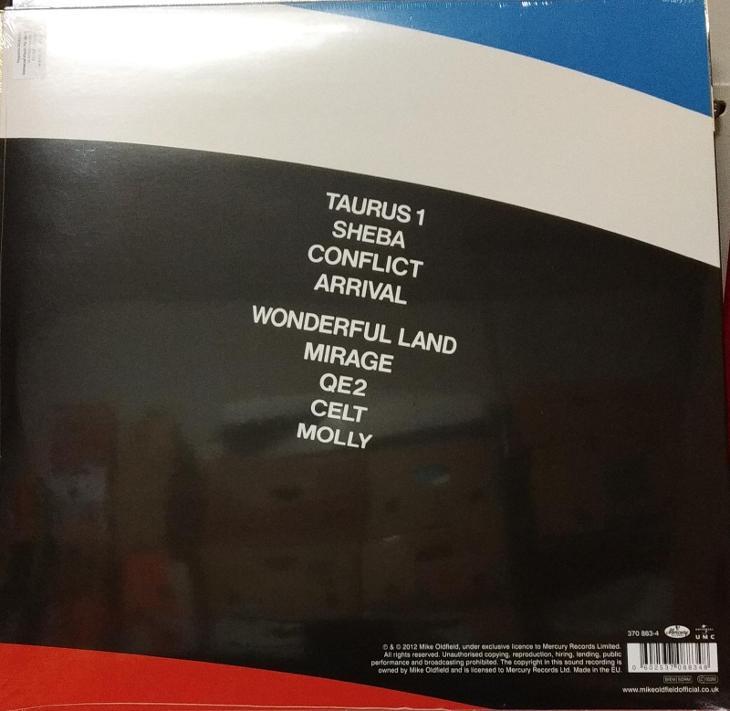 LP vinyl Mike Oldfield QE2 - Hudba