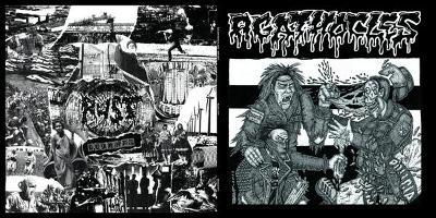 """AGATHOCLES / RUST split 12"""" LP"""