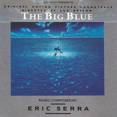 ERIC SERRA-THE BIG BLUE SOUNDTRACK CD ALBUM 1988.