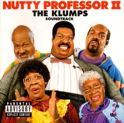NUTTY PROFESSOR II. THE KLUMPS SOUNDTRACK CD ALBUM 2000.