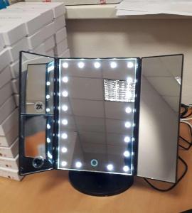 Zrcadlo s LED osvětlením, NOVE