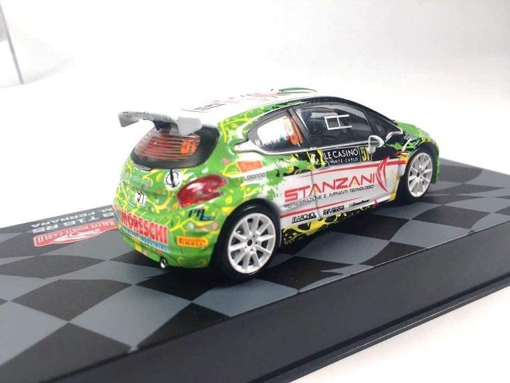 1:43 Eaglemoss Peugeot 208 R5 T16 Villa Rallye Monte Carlo 2016 (wrc) - Modelářství