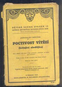 DIVADELNÍ HRA -DĚTSKÁ SCÉNA - POCTIVOST VÍTĚZÍ    / 1941/