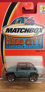 MATCHBOX HERO CITY  ´´ JEEP WILLYS ´´ 2003 #71