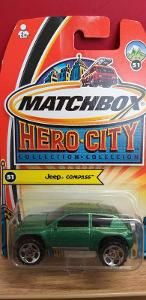 MATCHBOX HERO CITY  ´´ JEEP COMPASS ´´ 2004 #51