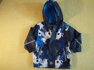 Chlapecká jarní/ podzimní bunda vel. 86-92