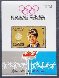 Sharjah Olympijské hry 1968, aršík