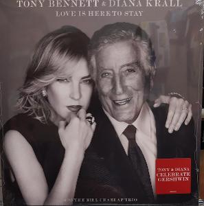 LP vinyl Tony Bennett & Diana Krall Love Is Here To Stay