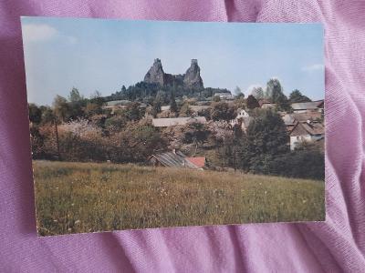 Pohlednice Český Ráj - st. hrad Trosky,prošlé poštou