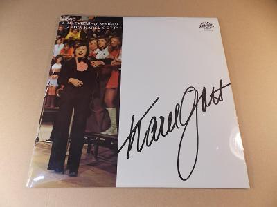 Gott Karel PÍSNĚ Z TEL. SERIÁLU 2 LP 1976 stereo
