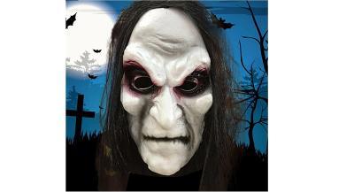 Maska Ježibaba -Zombie
