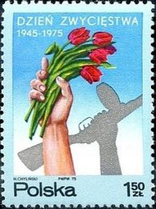 Polsko 1975 Známky Mi 2376 ** Druhá světová válka vojáci výročí vítězs