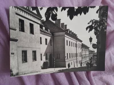 Pohlednice Varšava,ulice Bednarska,r.1968,prošlé poštou