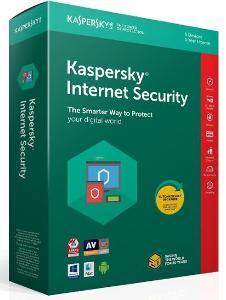 KASPERSKY INTERNET SECURITY 2021 3 ZAŘ. 1 ROK