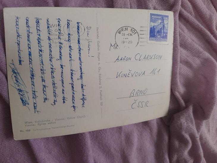 Pohlednice Vídeň,prošlé poštou  - Pohlednice