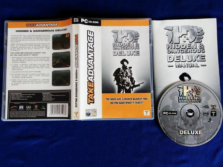 PC - HIDDEN a DANGEROUS DELUXE (retro 2002) Top - Hry