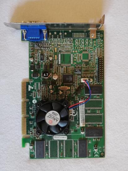 3DFX Voodoo 4 4500 AGP - Historické počítače