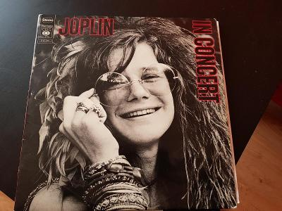 Prodám LP desku JANIS JOPLIN - IN CONCERT