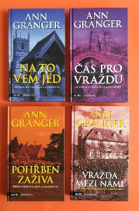 Ann Granger - 4 knihy (detektivky)