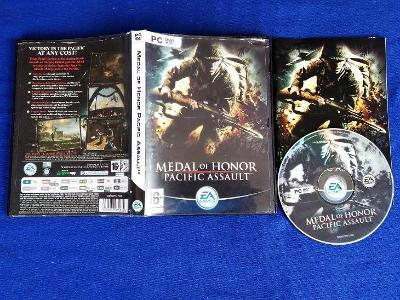 PC - MEDAL OF HONOR PACIFIC ASSAULT (retro rok 2004) Top