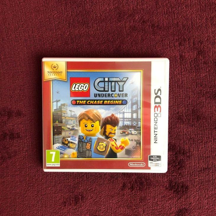 Nintendo 3DS - LEGO City Undercover: The Chase Begins - Hry